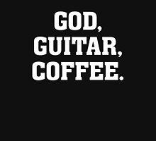 God, Guitar, Coffee - Christian Drummer Musician T Shirt Classic T-Shirt