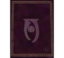Conjuration Spelltome Photographic Print