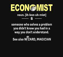 Funny Economist Meaning Shirt - Economist Noun Definition Unisex T-Shirt