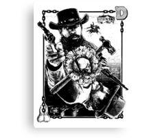 Django Kings Canvas Print