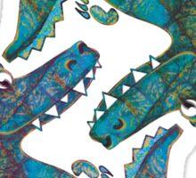 Crocodilians Sticker