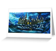 Hogwarts Greeting Card