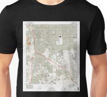 USGS TOPO Map Arizona AZ Tucson 313818 1992 24000 Unisex T-Shirt