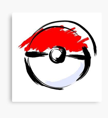 Pokemon Go Canvas Print