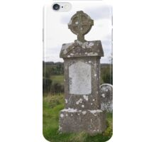 Grave of Matthew Ginnity died on Hunger strike 1923 iPhone Case/Skin