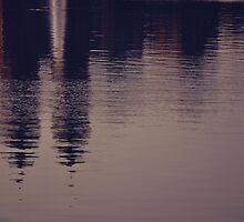 New York reflected by recicala