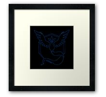 °GEEK° Team Mystic Neon Framed Print