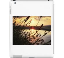 Sunset Through Lavender In Italy iPad Case/Skin