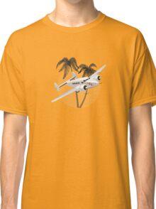 Cartoon retro airplane Classic T-Shirt