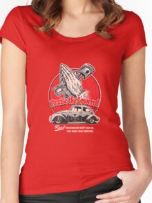 Praise The Lowered Beetle Women's Fitted Scoop T-Shirt