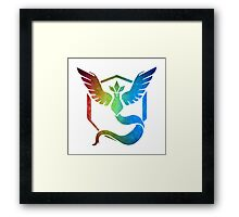 °GEEK° Team Mystic Rainbow Framed Print