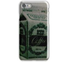 Shattered Iced Coffee iPhone Case/Skin