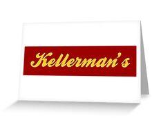 Dirty Dancing - Kellermans Greeting Card