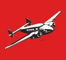 Cartoon retro airplane One Piece - Long Sleeve