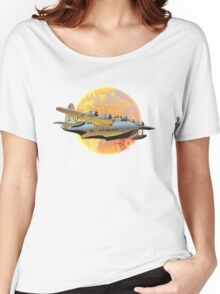 Retro seaplane Women's Relaxed Fit T-Shirt