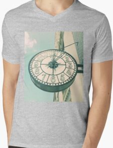 Time after Time Mens V-Neck T-Shirt