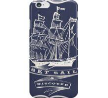 Set Sail & Discover iPhone Case/Skin