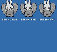 See No Evil Miffy Weeping Angel by Moovian