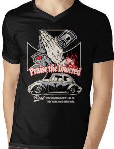 Iron Cross Beetle Mens V-Neck T-Shirt