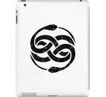 NeverEnding Story Snake Symbol Vintage iPad Case/Skin