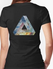 Triangle_of_Gaia 2014 Womens Fitted T-Shirt