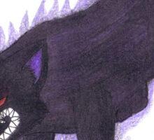 Nightmare Fox Sticker