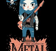 The Legend of Metal by Paula García