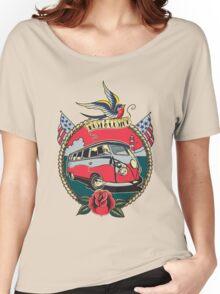 Rust N Custom Tatoo splitty Women's Relaxed Fit T-Shirt