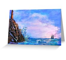 Sea stories 2 Greeting Card