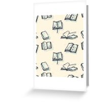 Literature Dreamer Greeting Card