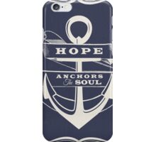 Anchor the Soul iPhone Case/Skin