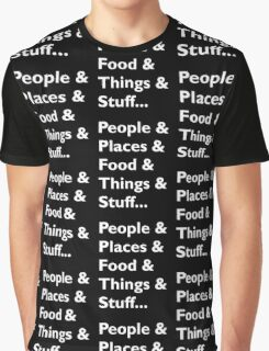 Everything Helvetica Hipster Graphic T-Shirt