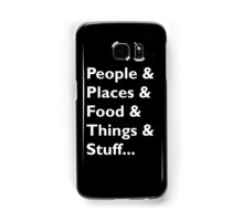 Everything Helvetica Hipster Samsung Galaxy Case/Skin