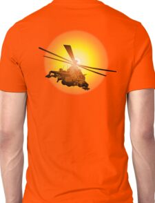 Cartoon strike helicopter Unisex T-Shirt