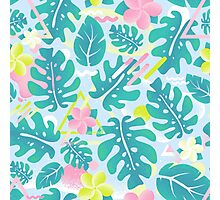 Tropical summer pattern Photographic Print