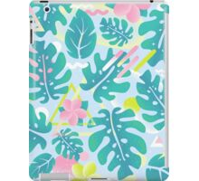Tropical summer pattern iPad Case/Skin