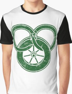 Wheel Of Time Symbol Vintage Graphic T-Shirt
