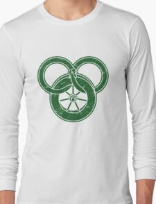 Wheel Of Time Symbol Vintage Long Sleeve T-Shirt