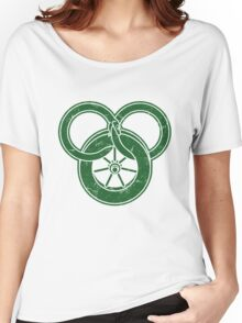Wheel Of Time Symbol Vintage Women's Relaxed Fit T-Shirt
