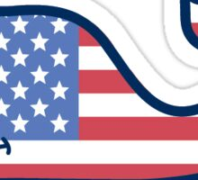 Vineyard Vines USA Sticker