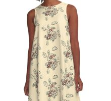 Little English rose's A-Line Dress