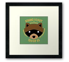 Khaki Scouts of North America Framed Print
