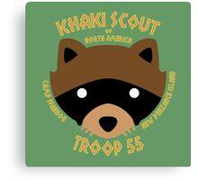 Khaki Scouts of North America Canvas Print