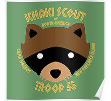 Khaki Scouts of North America Poster