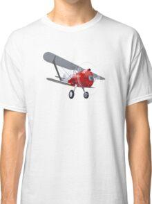 Retro biplane Classic T-Shirt