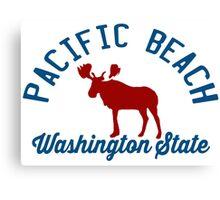 Pacific  Beach - Washington. Canvas Print