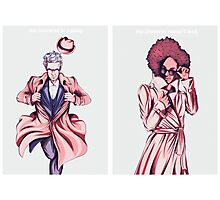 Doctor Who - Super Twelve and Pearl Photographic Print