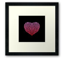 Pink Love Framed Print