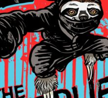 Sloth The Deadliest of the Seven Deadly Sins Sticker