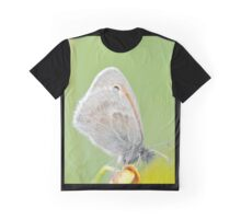 Butterfly on Flower Graphic T-Shirt